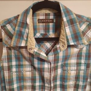 👚3 for $25👚Roper Checked Shirt 🇨🇦 Size Large
